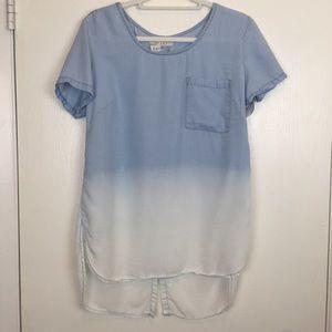 Francesca's Miami Shirt Top Medium
